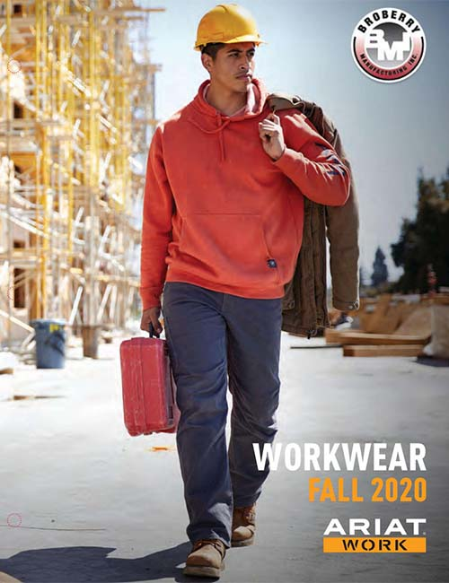 Ariat Workwear Spring 2020 Catalog